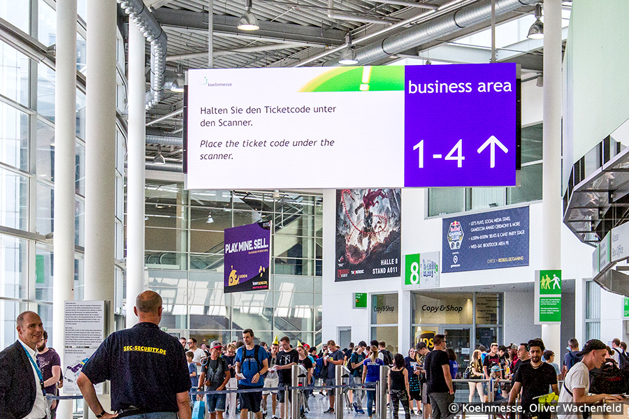 Samsung SDS' Digital Signage System Was Deployed at Koelnmesse in Germany, the World's 7th Largest Trade Fair and Exhibition Center
