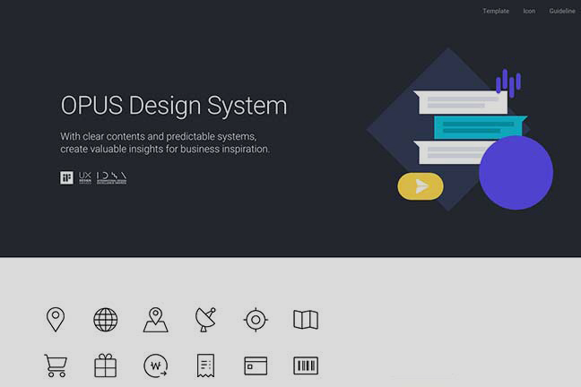 Design platform supports archiving, sharing, improving, and communicating a system's internal design assets and provides constant training and updates for simple operation and maintenance.