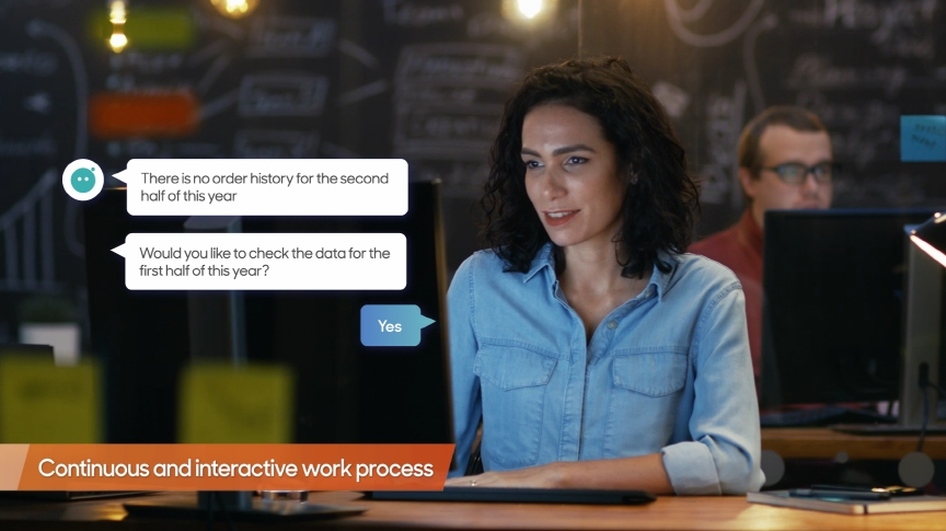 See how conversational AI transforms the workplace.