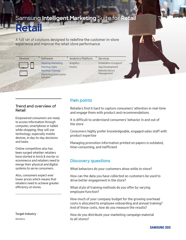 Solution Stack_Intelligent Marketing - Retail1