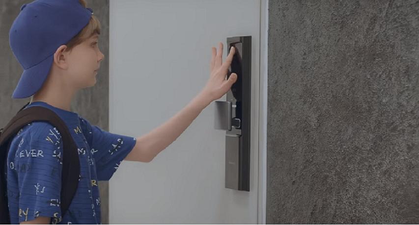 Samsung Smart Doorlock   IoT Home   Samsung SDS