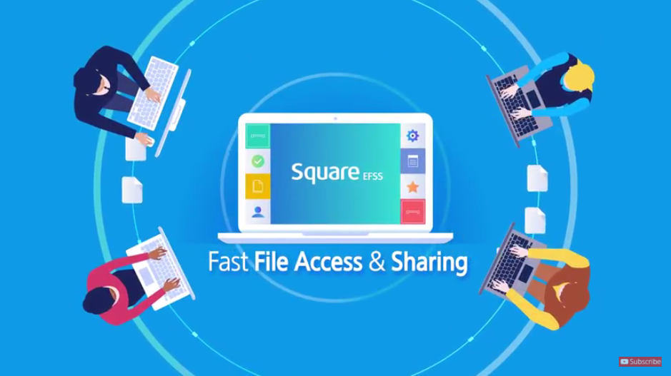See how Square EFSS works in the real world