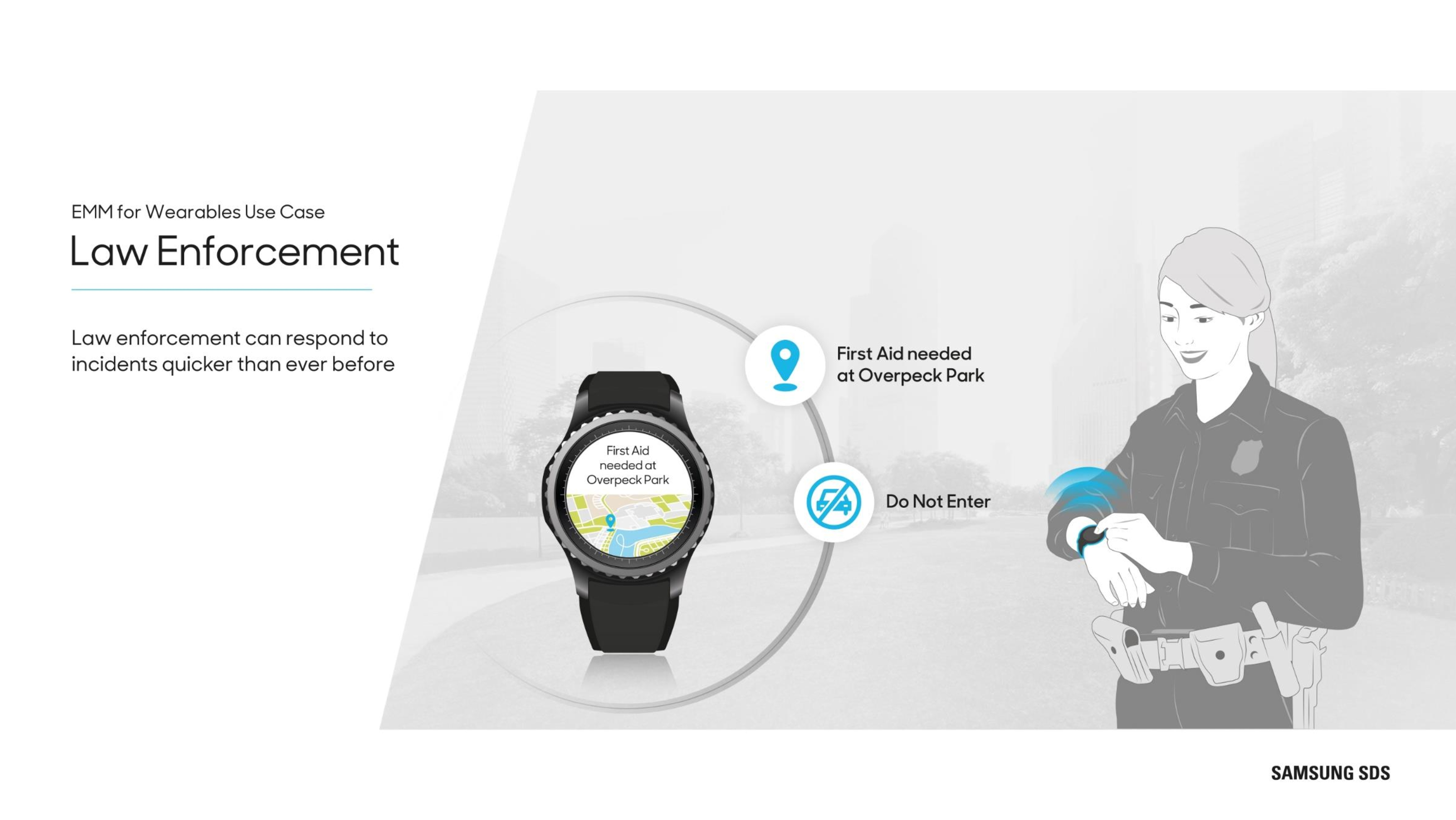 Wearables in government Law enforcement can respond to incidents quicker than ever before