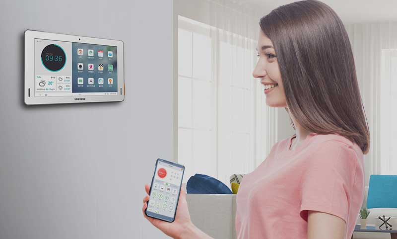 Meet Samsung SDS's Smart Home solution showcased in Heliocity, Songpa