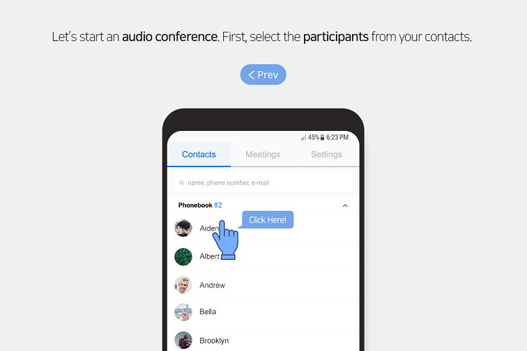Explore our truly differentiated audio conferencing services