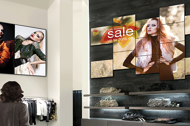Maximize digital advertising in malls