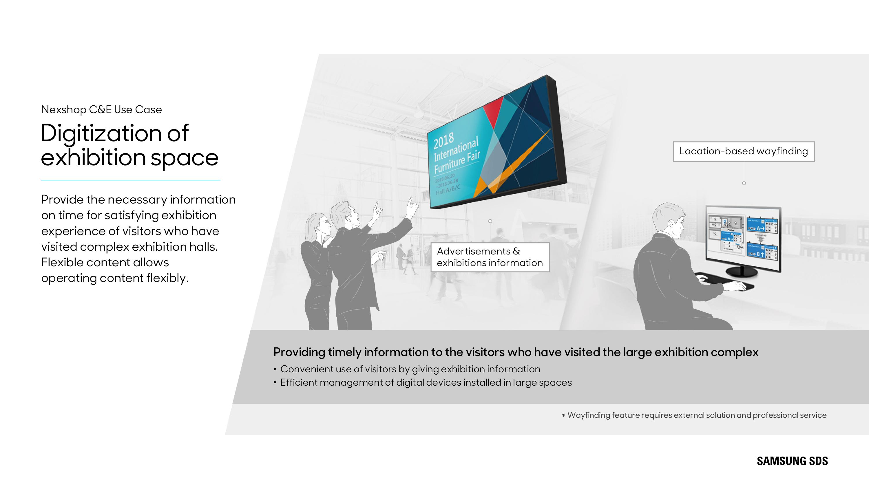 Nexshop   Retail Analytics   Samsung SDS