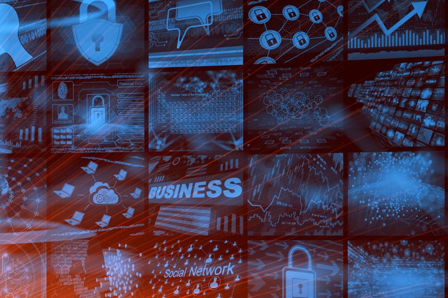 다양한 IT industry를 나타낸 이미지