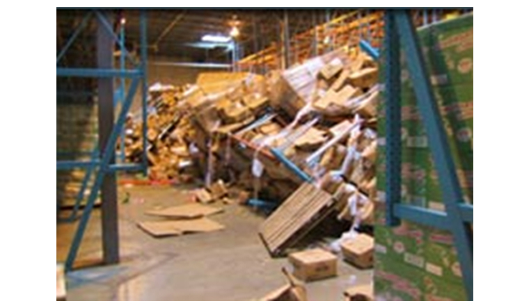 Picture 3. Damaged Goods While In Warehouse