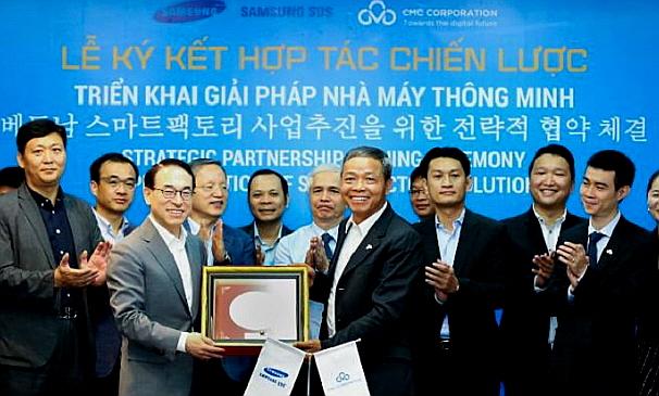 삼성SDS–베트남 CMC, 스마트팩토리 사업추진을 위한 전략적 협약