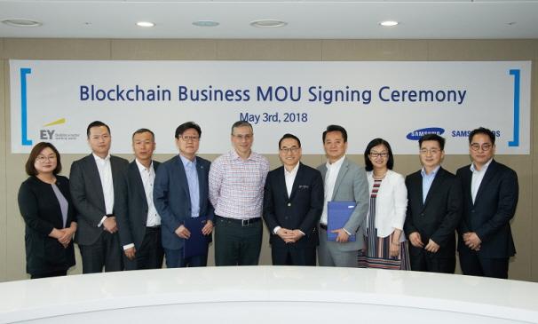 글로벌 회계∙컨설팅 법인 EY한영과 전략적 제휴를 맺고 제조∙물류∙금융 분야 기업간 거래를 혁신하는 블록체인 사업을 강화하였습니다.