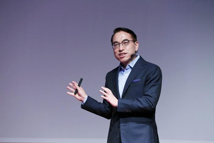 삼성SDS 홍원표 사장 프리젠테이션