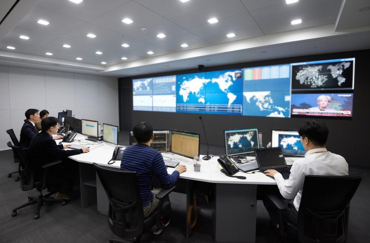 삼성SDS GCC센터 모습