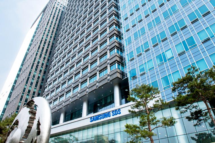 삼성SDS 회사 건물 이미지