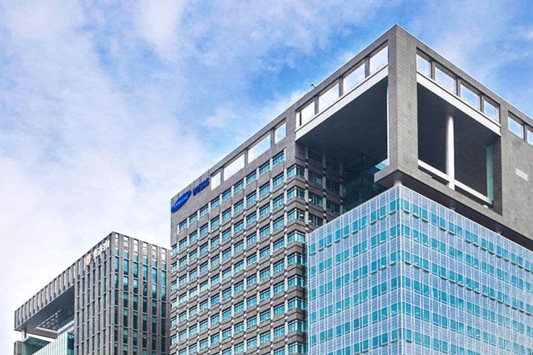 삼성SDS 회사 건물 모습