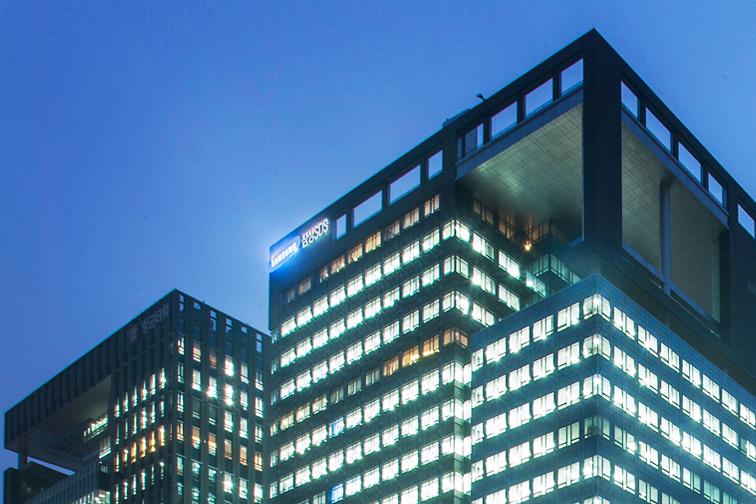 삼성SDS 회사 건물 사진