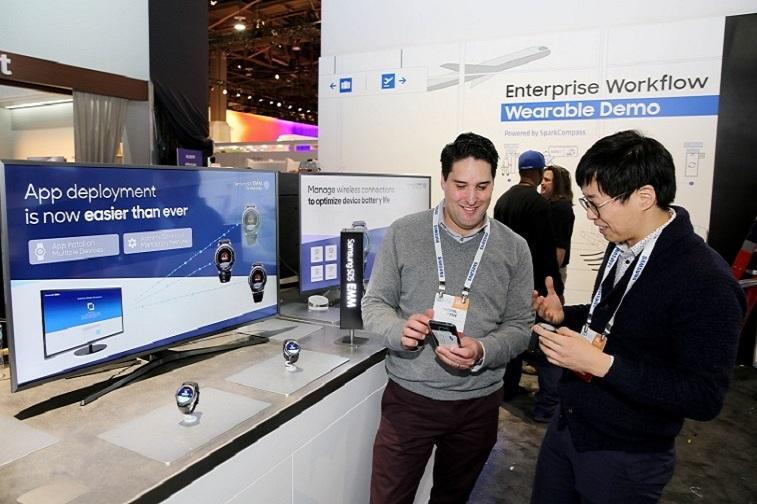 삼성SDS, 웨어러블 보안솔루션 개발