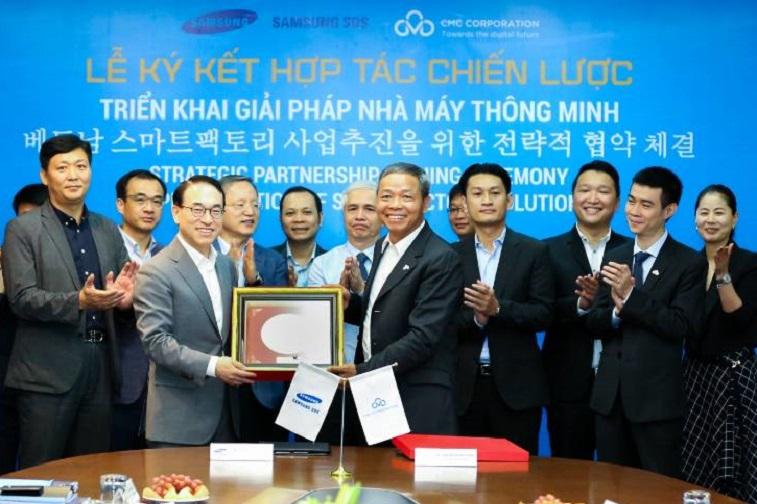 삼성SDS–베트남 CMC 스마트팩토리 사업추진을 위한 전략적 협약