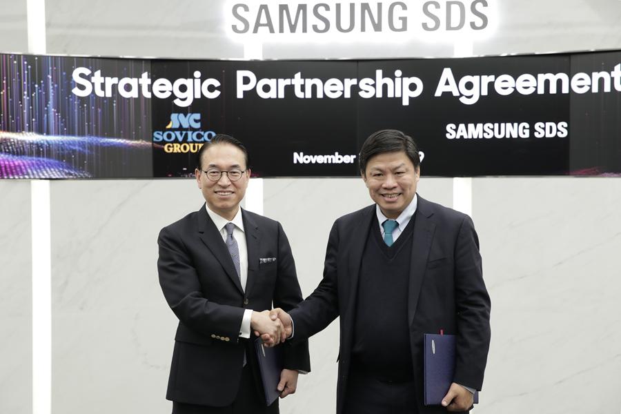 삼성SDS, 베트남 소비코 그룹의 디지털 트랜스포메이션 파트너된다.