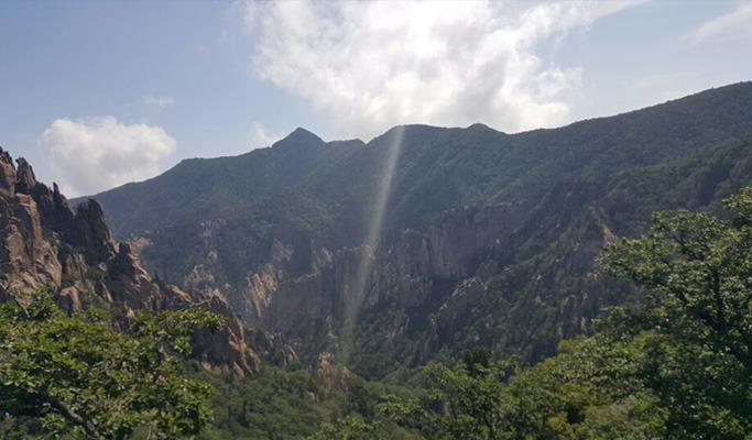 설악산 등반기 사진 2