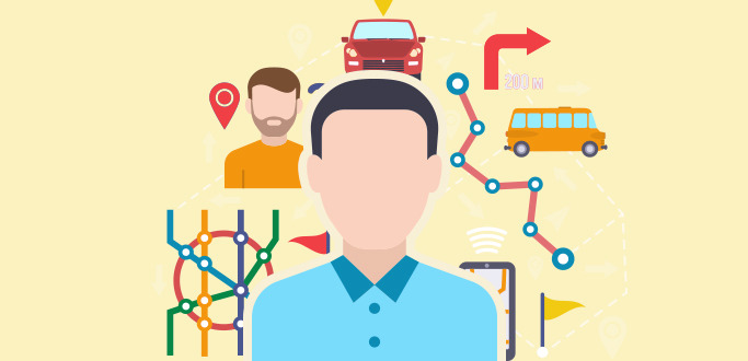 기술과 사람을 표현한 이미지