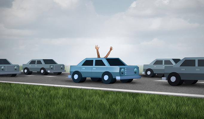 무인 자동차 이미지
