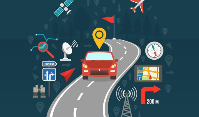GPS 기반 무인자동차 이미지