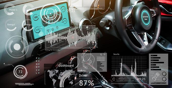 UX 중심 UI 포함 자동차 개발