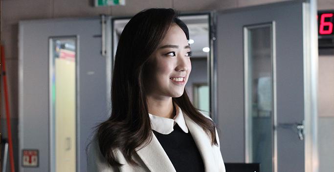 KBS 배혜지 기상 캐스터