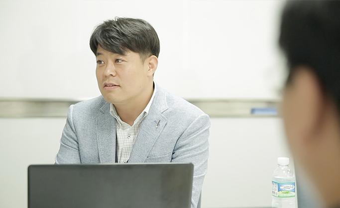 인공지능 스터디 강사를 맡은 삼성SDS 김명식 프로