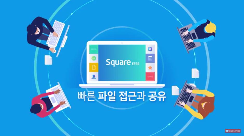 Square EFSS의 사용 사례