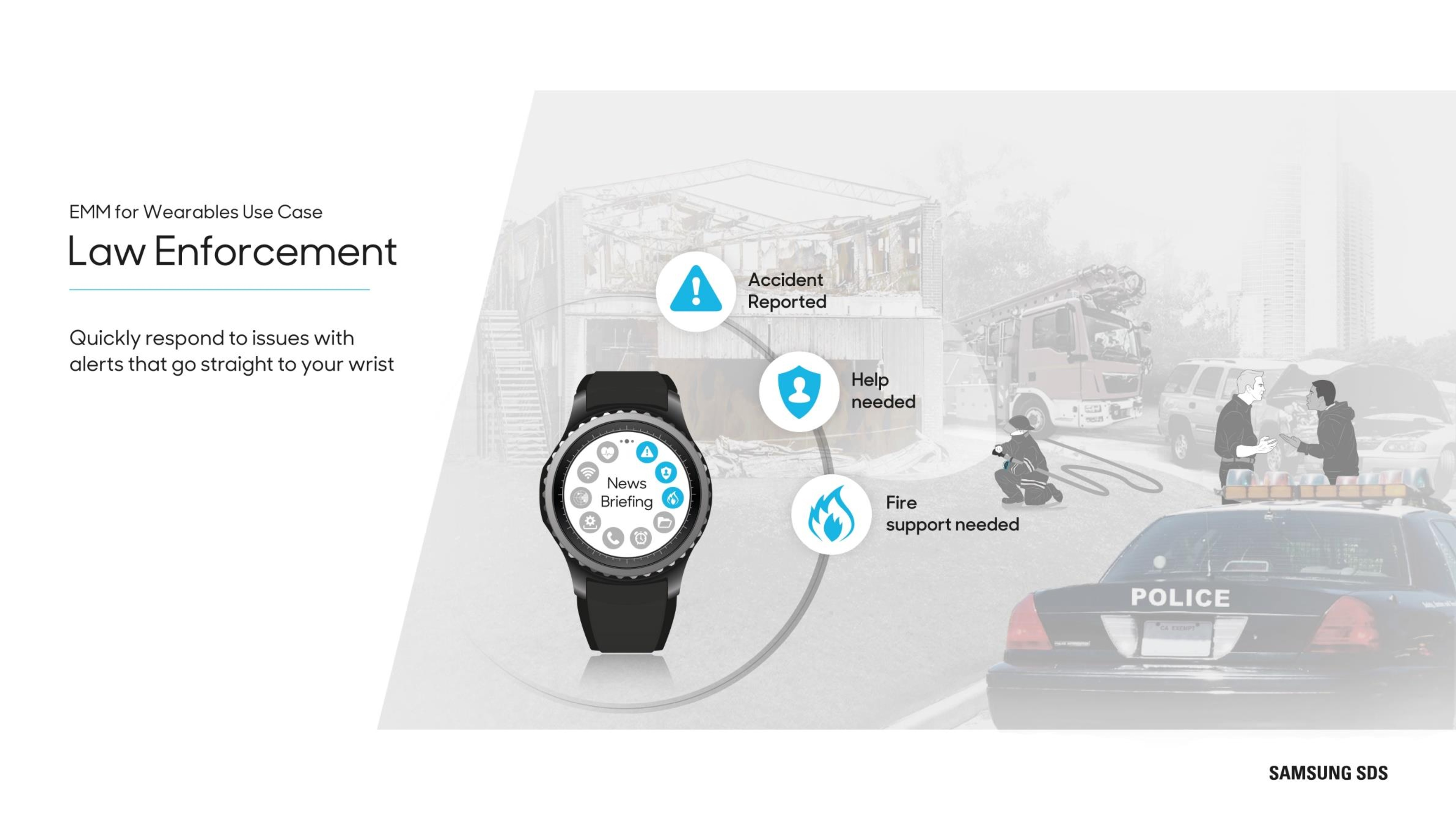 Wearables in government Quickly respond to issues with alerts that go straights to your wrist
