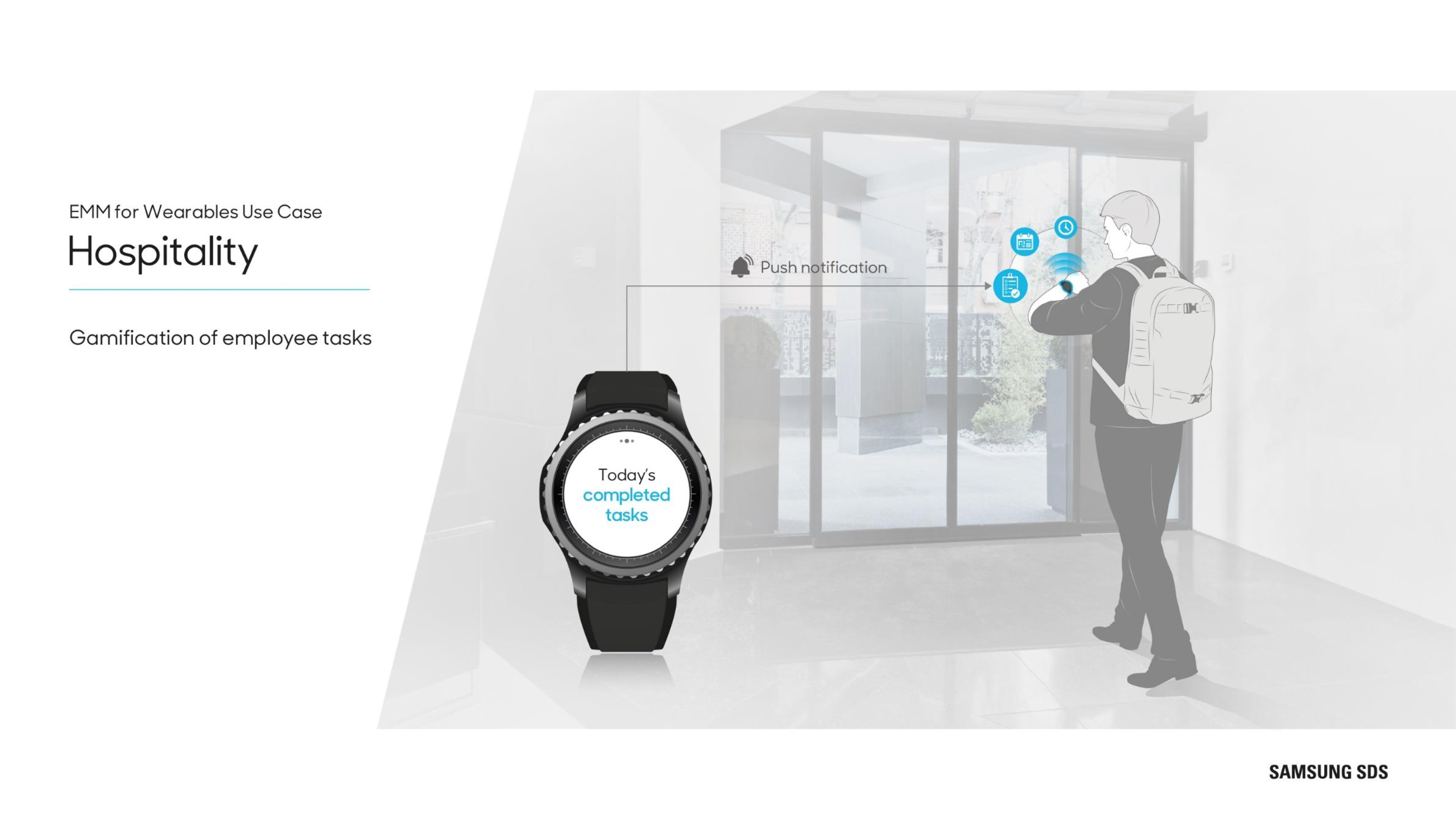 Wearables in Hospitality Gamifications of employee tasks