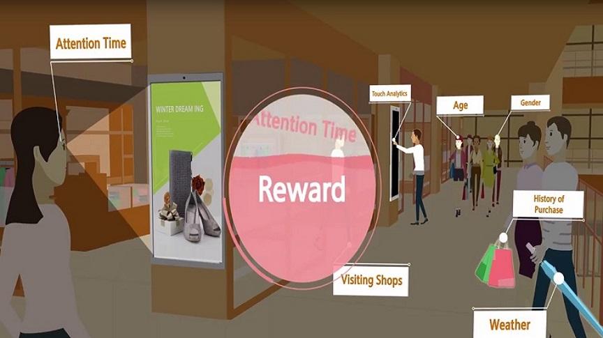 쇼핑몰에 방문한 고객별로 실시간 프로모션 메세지를 제공하세요.