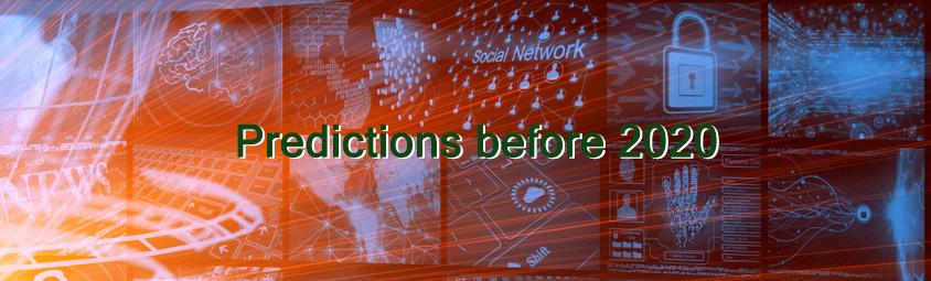 2020 전 예측 ‐ Predictions before 2020