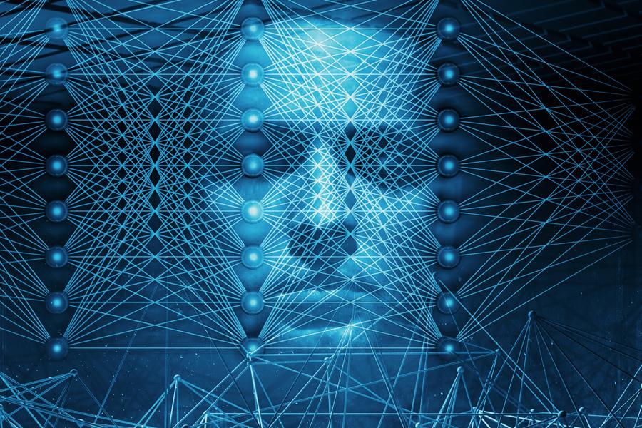 AI를 형상화한 이미지