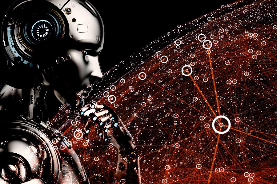 인공지능 로봇의 모습