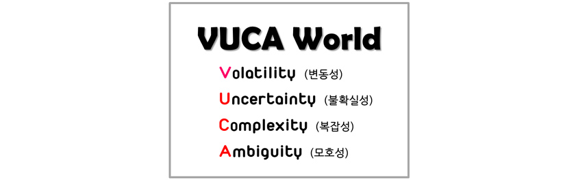 VUCA 의 단어 의미