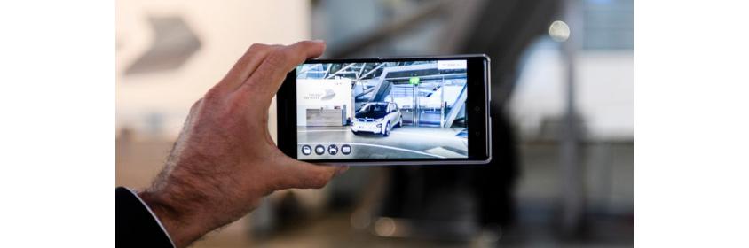 증강현실 기술을 이용한 가상 자동차 쇼룸 (BMW)