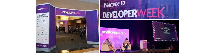 DeveloperWeek 2019 컨퍼런스 이미지
