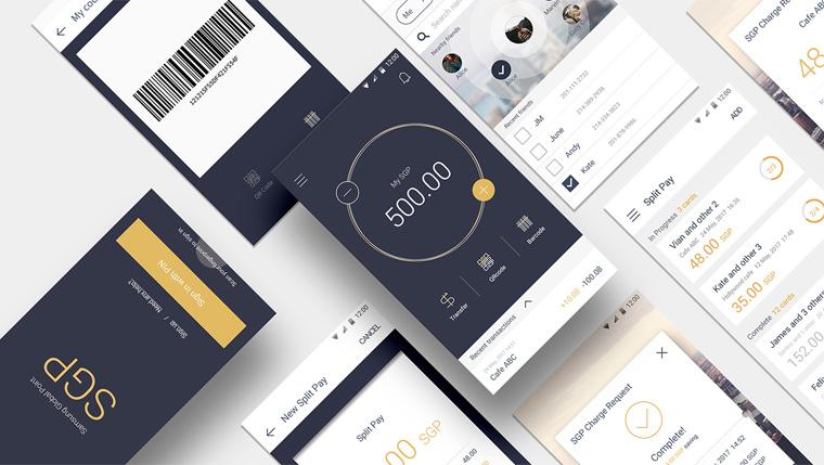 Nexledger™ 블록체인 플랫폼을 활용한 Simple UX기반 포인트 결제/송금 서비스 삼성 SDS의 'Digital Payment(SGP)'