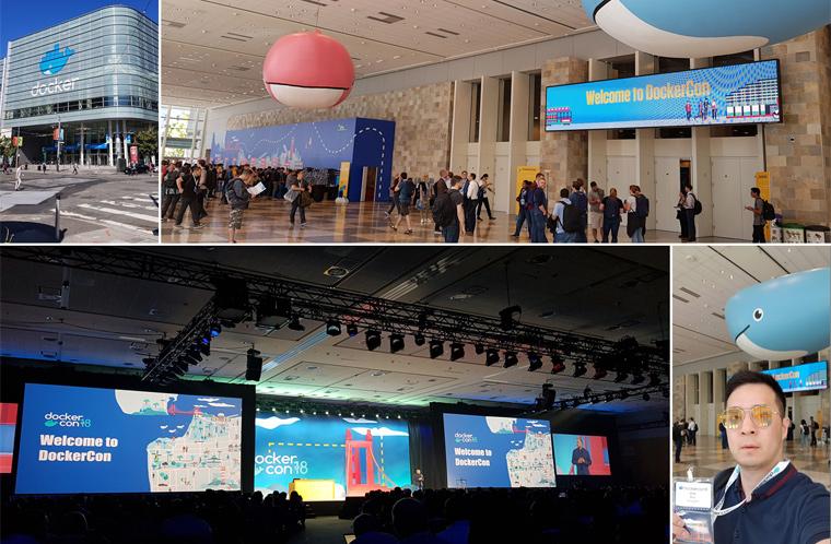 DockerCon SF 18 콘퍼런스 현장