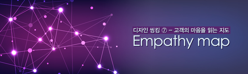디자인 씽킹 ⑦ - 고객의 마음을 읽는 지도: Empathy map