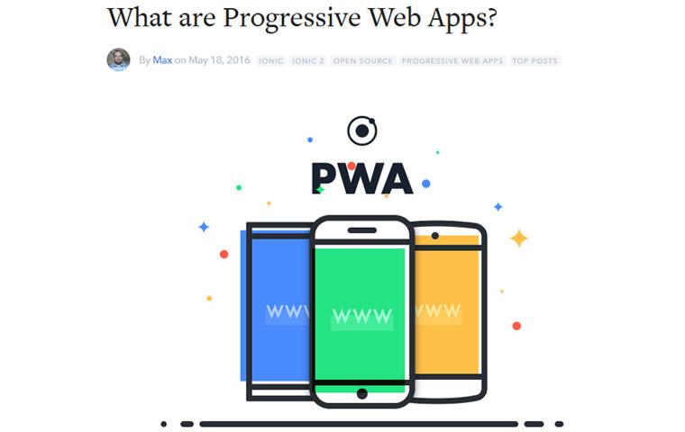 what are Progressive Web Apps