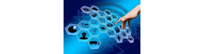 [그림 1] 최신 디지털 기술과 연결되는 스마트팩토리