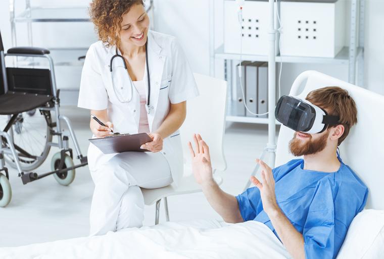병원에 도입된 증강현실