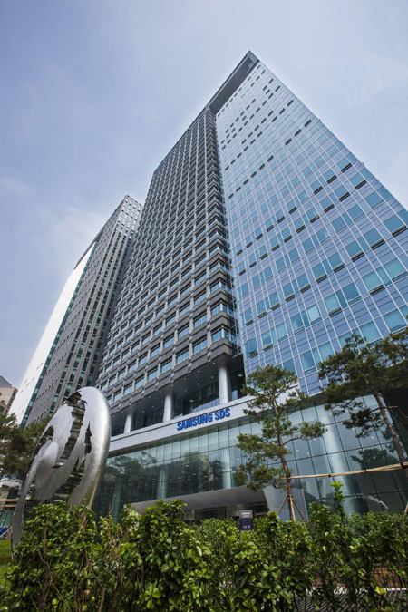 The picture of Samsung SDS building