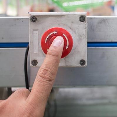 위험지역 장비 자동 제어 장치