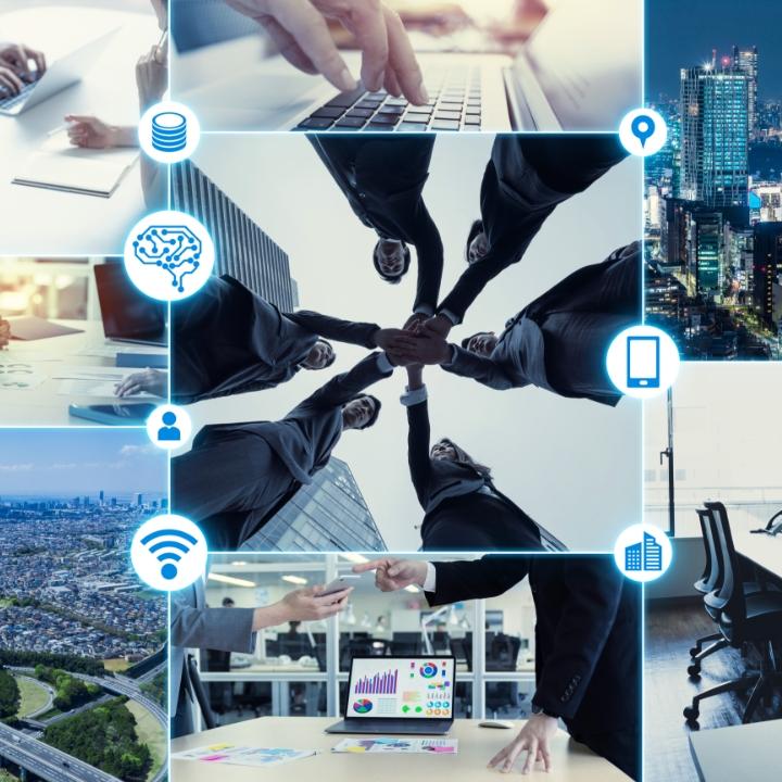 AI, 블록체인, RPA, 클라우드, 데이터 분석 등 디지털 기술과 관련 솔루션을 검토하여 고객 맞춤형 DT 플랫폼 구성이 가능합니다.
