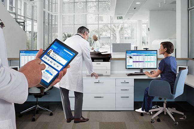 디지털 환자 기록 관리로 대기 시간 단축